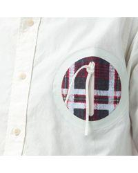 Visvim - White Juneau Weld L/s Giza Shirt In Broad Ivory for Men - Lyst