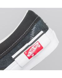 Vans Slip-on 'inside Out' Lx In Black for men