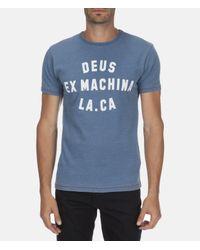 Deus Ex Machina - Blue La.ca Tee for Men - Lyst