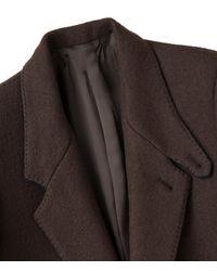 Umit Benan - Brown S.b. Sartorial Coat for Men - Lyst