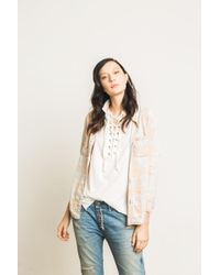 NSF | Multicolor Kimberly Button Down Shirt | Lyst