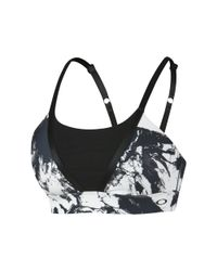 Oakley - White Sessions Printed Bra - Lyst