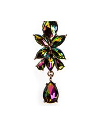 Oasis - Multicolor Petrol Stone Drop Earrings - Lyst