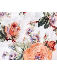 Oasis | Multicolor Floral Bloom Print Scarf | Lyst