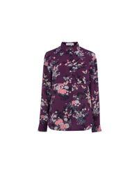 Oasis | Purple Kimono Shirt | Lyst