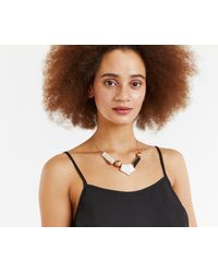 Oasis - Multicolor Asymmetric Resin And Orb Colla - Lyst