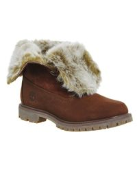 Timberland | Multicolor Fur Fold Down Boots | Lyst