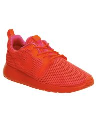 Nike | Orange Roshe Run Natural Motion Prm Sneakers | Lyst