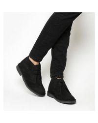 Office - Black Uphill Desert Boots for Men - Lyst