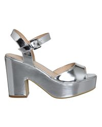 Office - Metallic Dauntless Sandals - Lyst