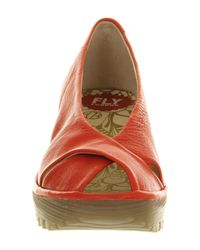 Fly London   Red Yaff Slingback   Lyst