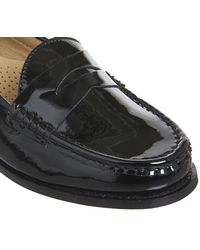 Office Black Founder Patent Loafers