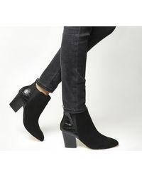 Office - Black Anabella Point Chelsea Boots - Lyst