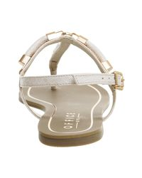 Office - White Harlow Toe Post Sandals - Lyst
