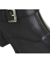 Office Black Londi Zip Front Boots