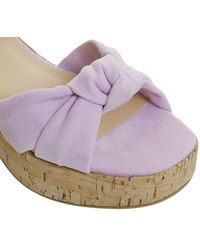 Office - Purple Magnolia Flatform Sandals - Lyst