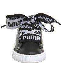 PUMA - Black Basket Heart - Lyst
