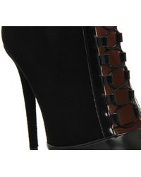 Office - Black Intoxicate Lace Up Shoe Boots - Lyst