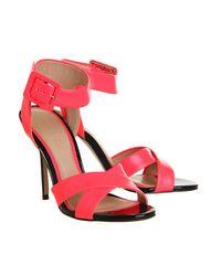 Office - Pink Solo Single Sole Sandal - Lyst