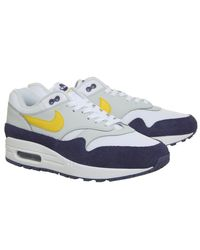 Nike - Blue Air Max 1 Trainers for Men - Lyst