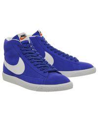 Nike Blue Blazer Mid Retro for men