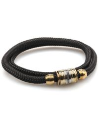 Miansai | Black Casing Bracelet for Men | Lyst