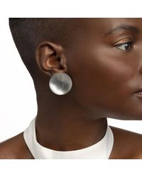 Alexis Bittar - Gray Medium Dome Clip Earring - Lyst