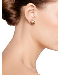Oscar de la Renta | Metallic Tailored Mosaico Earrings | Lyst