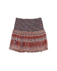 Ulla Johnson | Blue Colette Silk Miniskirt | Lyst