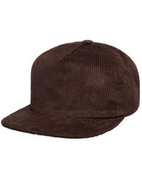 Outerknown - Brown Essential 5-panel Cord Hat for Men - Lyst
