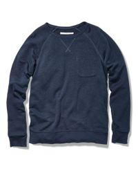 Outerknown | Blue Transit Crew for Men | Lyst