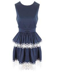 Alexis | Blue Desiree Dress In Navy | Lyst