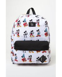 b4e0f599ea Men s White X Disney Mickey s 90th Anniversary - Mickey Through The Ages  Backpack