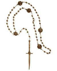 Pamela Love | Metallic Dagger Rosary | Lyst