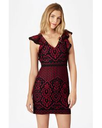 Parker | Red Jaxon Combo Dress | Lyst