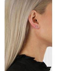 Jennifer Meyer - Love Earring White Gold - Lyst