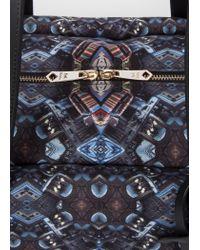 Paul Smith - Black 'mini Kaleidoscope' Print Weekend Bag for Men - Lyst