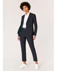 Paul Smith - Blue A Suit To Travel In - Navy One-button Wool Suit - Lyst
