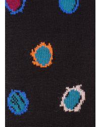 Paul Smith - Black 'Scribble Spot' Socks for Men - Lyst
