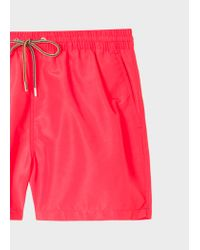 Paul Smith - Pink Short De Bain Rose Fluorescent for Men - Lyst