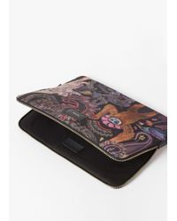 "Paul Smith - Multicolor 'monkey' Print 13"" Laptop Sleeve - Lyst"