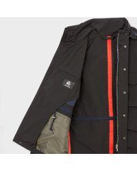 Paul Smith - Men's Black Cotton-blend Showerproof Field Jacket for Men - Lyst