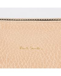 Paul Smith | Women's Aran And White Leather Bowling Bag | Lyst
