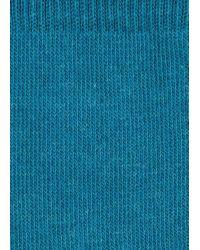 Paul Smith - Men's Light Blue And Petrol Vertical Stripe Socks for Men - Lyst