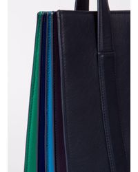 Paul Smith   Blue Women's Navy 'concertina' Tote Bag   Lyst