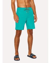 Paul Smith - Blue Short De Bain Turquoise for Men - Lyst