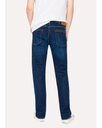 Paul Smith - Blue 14oz Raw Selvedge Denim Red Ear Jeans for Men - Lyst