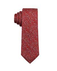 Perry Ellis - Red Stein Geo Silk Tie for Men - Lyst