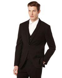 Perry Ellis | Black Slim Fit Solid Suit Jacket for Men | Lyst