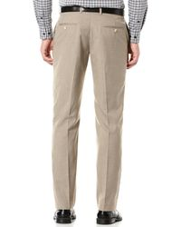 Perry Ellis - Gray Regular Fit Two Toned Twill Suit Pant for Men - Lyst